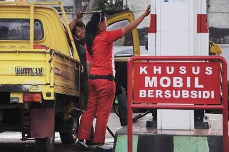 Pemkot Depok Melarang PNS Membeli BBM Subsidi