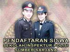 Pengumuman Pendaftaran Sekolah Inspektur Polisi Sumber Sarjana (SIPSS)