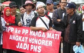 Pemerintah Sedang Membahas PP Honorer K2 yang Tak Lulus CPNS
