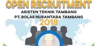 Lowongan PT Rolas Nusantara Tambang