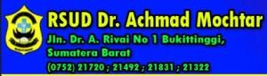 Lowongan BLUD RSUD Dr. Achmad Mochtar Bukittinggi