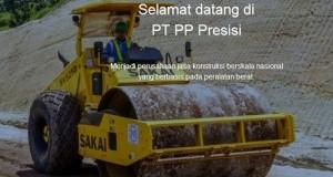 Lowongan PT. PP Presisi (PT PP Peralatan Konstruksi)