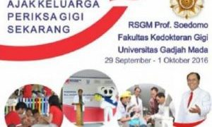Lowongan Rumah Sakit Gigi dan Mulut Prof Soedomo