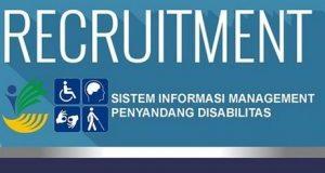 Lowongan Pendamping Penyandang Disabilitas Kemsos
