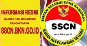 Pendaftaran CPNS Secara Online Hanya di sscn.bkn.go.id