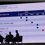 Jadwal Penerimaan CPNS 2019 / 2020