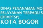 Lowongan Dinas DPMPTSP Kota Bogor
