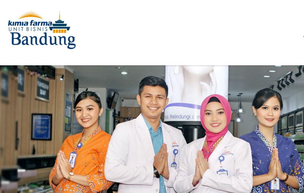 Lowongan PT Kimia Farma Apotek Unit Bisnis Bandung