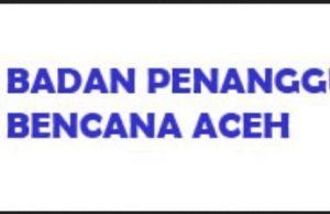 Lowongan Badan Penanggulangan Bencana BPBA Aceh