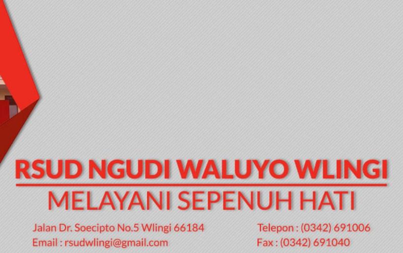 Lowongan RSUD Ngudi Waluyo Wlingi Blitar