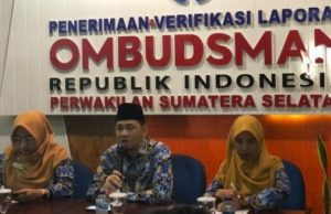 Lowongan Ombudsman Provinsi Sumatera Selatan