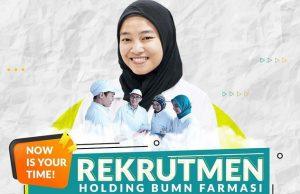 Lowongan Holding BUMN Farmasi